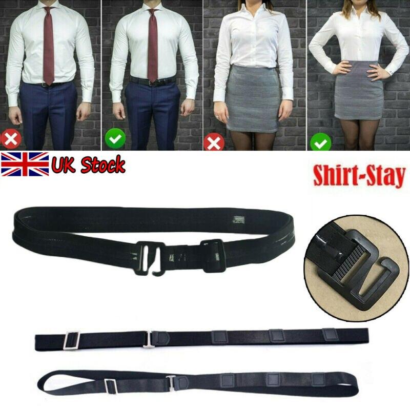 Goocheer Shirt Holder Adjustable Near Shirt Stay Best Tuck It Belt For Women Men Work Interview