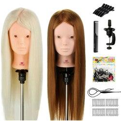 Голова-манекен для тренировки парикмахеров
