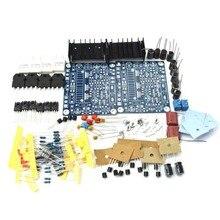 2 uds HiFi MX50 SE 2,0 Dual Channel 100W + 100W ESTÉREO amplificador de potencia DIY KIT De ciencia Juguetes para entusiastas electrónicos