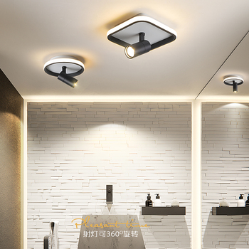 Bedroom bedside lamp corridor can be rotated modern LED ceiling Lights porch aisle balcony simple ceiling lamp home Fixtures