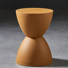 Nordic Plastic Stool Living Room Round Modern Leisure Simple Thickening Home Stool Bathroom Wear Shoes Creative Stool
