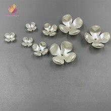 Цветок Abs имитация жемчуга бусины ABS имитация жемчуга установленный подвижный тип для ювелирных аксессуаров