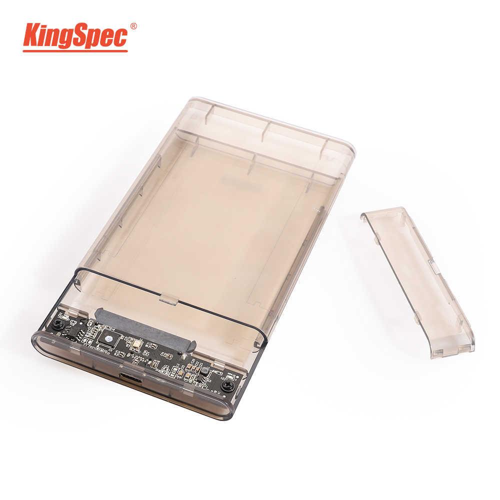 Carcasa Kingfish 6Gbps SATA ssd USB 3,0 7mm 5Gbps SSD caja de disco duro externo 9,5mm carcasa para 2,5 pulgadas SATA SSD HDD