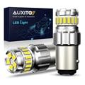 AUXITO 2шт P21W BA15S светодиодный Canbus 1156 BAY15D 1157 P21/5W светодиодный фонарь T15 R5W Автомобильные фары 6500K белые тормозные огни обратная лампа DRL