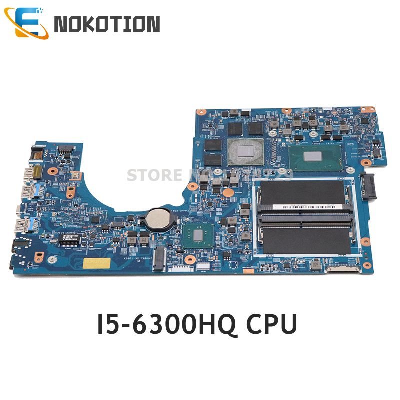 NOKOTION For Acer Aspire VN7-792 VN7-792G Laptop Motherboard GTX960M SR2FP I5-6300HQ CPU NBG6T11003 NB.G6T11.003 448.06A12.001M