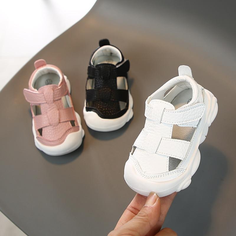 2020 Baby Boys Girls Summer Sandals Soft Bottom Kids Children Anti-collision Non-slip Casual Beach Sandals Infant Toddler Shoes