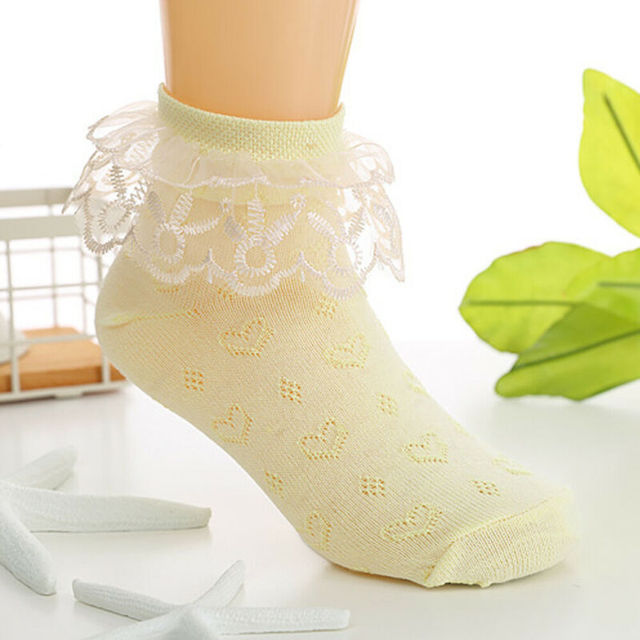 Toddlers Girls Lovely Lace Socks  6