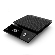 Smart Coffee Scale Hand Punch Multi-functional Bar Counter Coffee Pot Electronic Scale With Timer 3kg/0.1 Kitchen Scale 2020 new