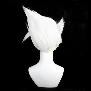 Kakashi Cosplay Anime Fluffiest Haar Styling Party Headwear Kurze Krieger Ninjas Haar Karneval Halloween Requisiten