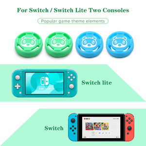 Image 3 - IVYUEEN 2 adet Analog Thumb sapları kapaklar nintendo anahtarı Lite NS JoyCon denetleyici sopa cilt için Joy Con Joycons joystick kapak