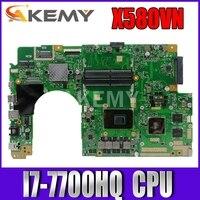 X580VN Laptop motherboard for ASUS X580VN X580VD X580V original mainboard I7-7700HQ MX150-2GB 1