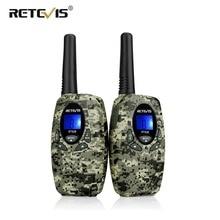 Retevis RT628ของเล่นWalkie Talkie 2Pcs Miniเด็กวิทยุ0.5W PMR PMR446 FRS GMRS 8/22CH VOXเด็ก2 Wayวิทยุคริสต์มาสของขวัญ