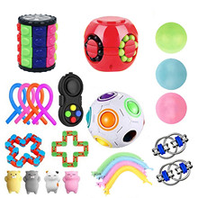 Sensory-Toys-Set Relaxing Widget Kids Hand-Toys Stress Relief Squeeze Adults for 23-Pack