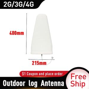 Image 5 - Antena periódica de registro externo, antena reforço de sinal de antena 2g 3g 4g 13dbi 700 2700mhz antena externa 4g repetidor de sinal