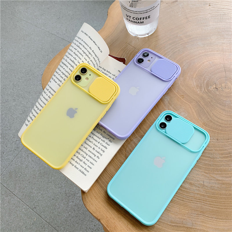 New Arrivals Fashion Phone Case for iPhone 11 Pro MAX 7 8 Plus X XR XS MAX SE 2020 Skin-friendly Feel Clear TPU Matte Back Cover