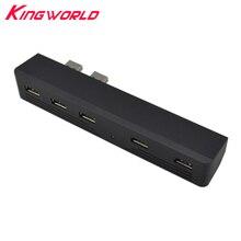 Adaptador USB 2,0 HUB 5 en 1 de alta calidad, 5 puertos, para playstation 3, PS3, adaptador de alta velocidad 2 a 5