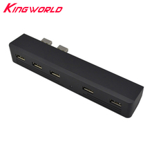 Hight quality 5 Port USB 2.0 HUB 5 in 1 USB Adapter for playstation 3 for PS3 High Speed Adapter 2 To 5