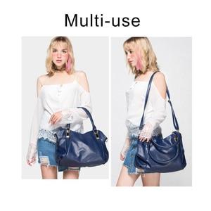 Image 3 - TTOU Designer Women Handbag Female PU Leather Bags Handbags Ladies Portable Shoulder Bag Office Ladies Hobos Bag Totes