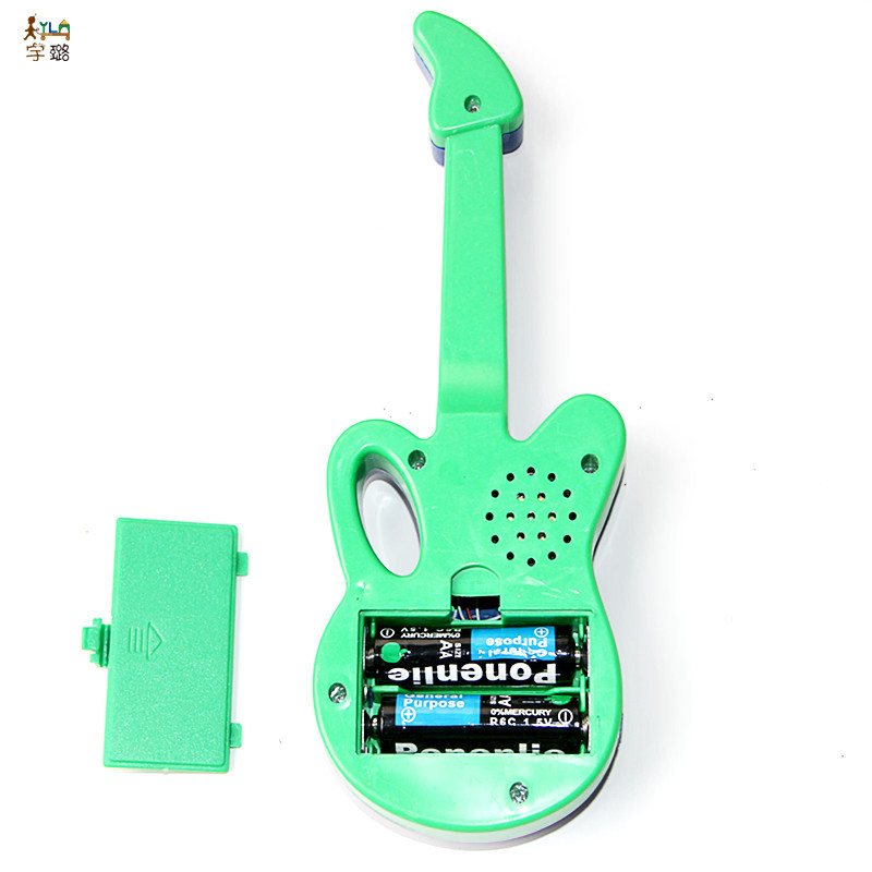 Infants Educational Early Childhood Toy Multi-functional Music Guitar Electronic Guitar Cartoon Guitar Night Market Stall Hot Se