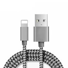 CHOETECH para iPhone Cable 5V 2.1A Cable rápido para teléfono móvil Cable de datos USB Cable de carga inteligente para iPhone X XR XS MAX 8 7 ipad