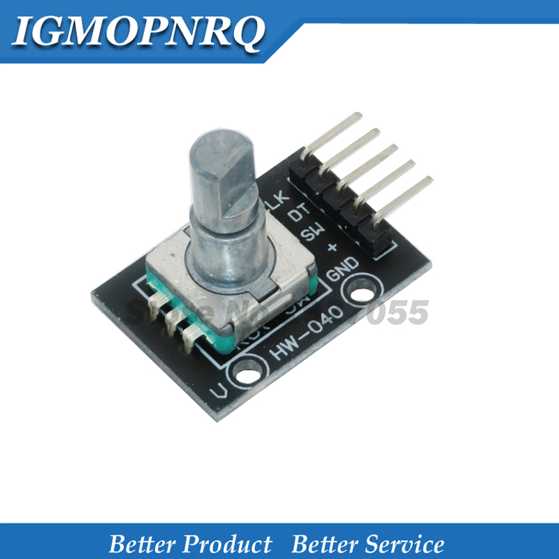 1pcs KY-040 Rotary Encoder Module Brick Sensor Development For KY-040