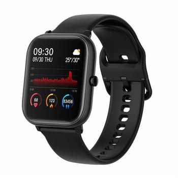 Najnowszy 1 4 Cal kwadratowy ekran inteligentny zegarek mężczyźni w pełni dotykowy Smartwatch opaska monitorująca aktywność fizyczną opaska monitorująca aktywność fizyczną inteligentny zegar kobiety Smartbands tanie i dobre opinie youKme CN (pochodzenie) Android OS Na nadgarstku Wszystko kompatybilny 128 MB Passometer Brak english Rosyjski Spanish