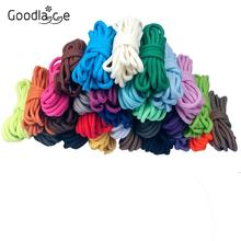60-180 см круглые шнурки для ботинок шнурки для обуви, шнурки полиэфирные шнурки различных цветов