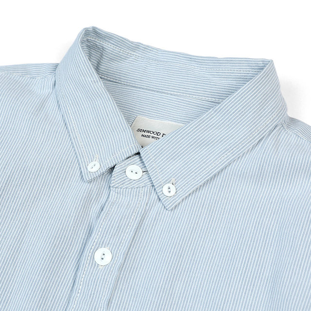 Slim-Fit Shirt with Pinstriped lines
