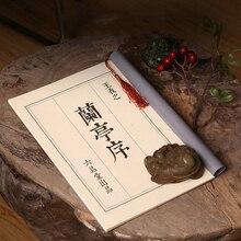 Chinese Characters Reusable Pen calligraphy copybook Erasable pen Hard copybook Adults Art writing books lantingxu china s famous carving books chinese calligraphy painting seal art techniques