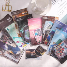 40 stücke Retro Washi Aufkleber Ästhetik Kawaii Katze Papier Aufkleber Scrapbooking DIY Album Tagebuch Reise Aufkleber Schreibwaren Liefert