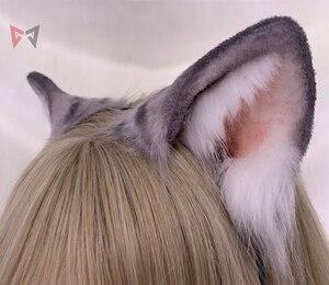 Image 3 - Черный день новый оригинальный ручной работы Американский короткошерстный обруч для волос зверь кошка прекрасный головной убор на заказ для костюмированной вечеринки Рождественский подарок