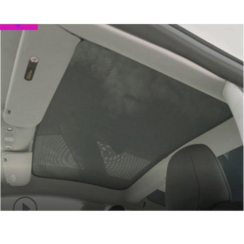 1 шт. для Tesla модель S для крыши, Солнцезащитный автомобильный Skylight задний Skylight глухая затеняющая сетка