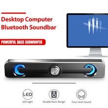 Bluetooth Speaker Subwoofer Desktop Soundbar V111 Home-Theater Computer SADA 3W for PC