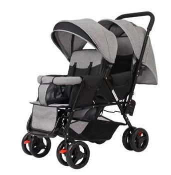 Lightweight 9.6KG Twins Stroller suit for 2 kids, Folded Twins Carriage with adjust seat, purple twins stroller can sit can lie cocteau twins cocteau twins heaven or las vegas