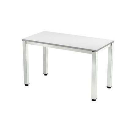 TABLE OFFICE 'S EXECUTIVE SERIES 120X60 CHROME/GREY