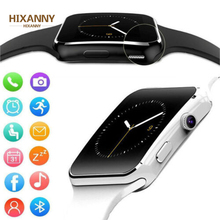 2019 X6 Curved Screen Bluetooth Smartwatch TF SIM Camera Men Women Smart Watch for Android IOS iPhone Samsung Fashion Watches