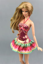 Mode Zomer Rok Outfit Voor Barbie 11 Inches Bjd Fr Sd Poppenkleertjes Poppenhuis Roll Play Accessoires(China)