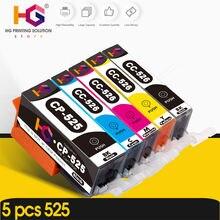 5 шт картриджи для принтера canon pixma ip4850 ip4950 ix6550