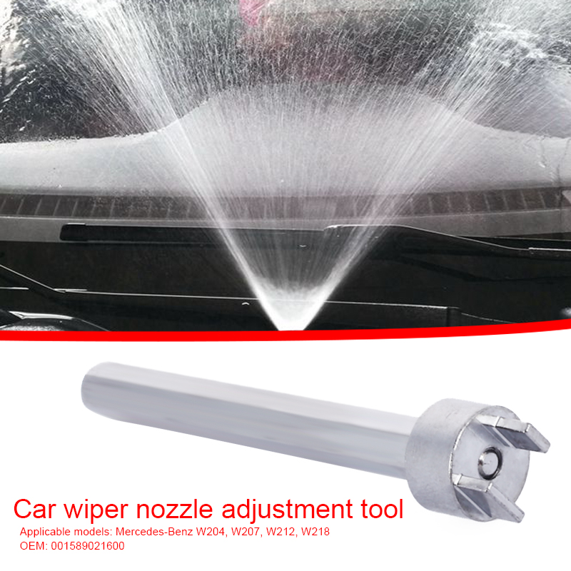 Araç camı yıkama nozulu ayar aracı uyar Mercedes Benz için W204 W207 W212 W218