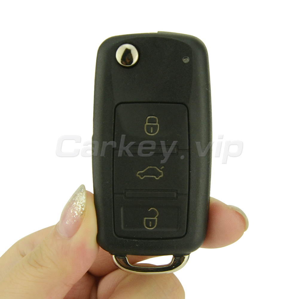 300 959 753AA Car remote key 3 button 434Mhz electronic 46 for VW Touareg 2004 2005 2006 2007 2008 2009 2010 2011 300959753AA