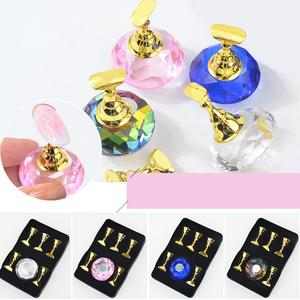 5Pcs Magnetic Nail Tips Stand