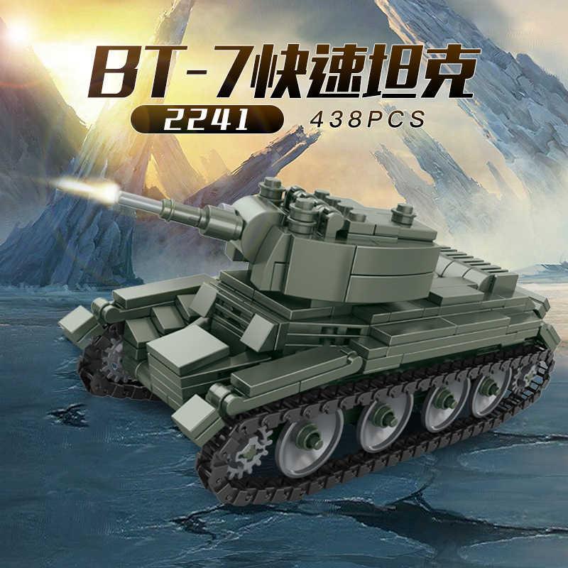 مجموعات دبابات عسكرية ww2 ألمانيا الولايات المتحدة T34 نموذج اللبنات الطوب مجموعات الجيش الحرب العالمية 2 1 i ii بانزر مركبة تكنيك مدرعة