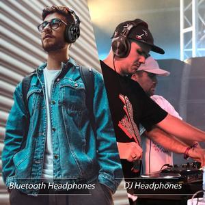 Image 5 - Oneodio A70 المهنية DJ سماعات المحمولة قابل للتعديل اللاسلكية/سماعة رأس سلكية Bluetooth5.0 سماعة لتسجيل رصد