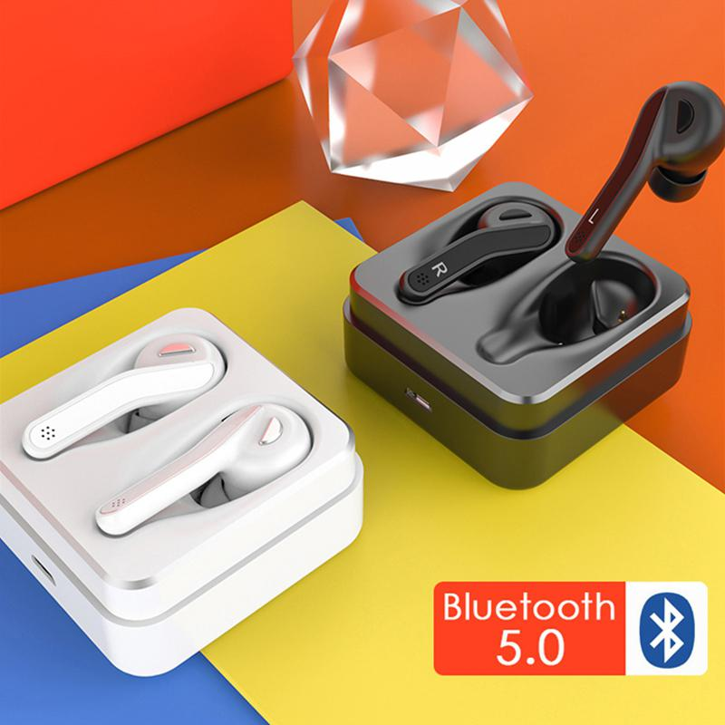 DSstyles TWS Bluetooth 5.0 écouteurs sans fil écouteurs antibruit écouteurs HIFI écouteurs avec micro pour téléphone