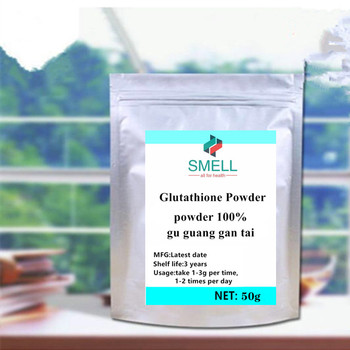 L-glutathione Glutathione Powder,GSH with Glutamic acid,cysteine,glycine 99% Whitening, skin care, antioxidant Free shipping image