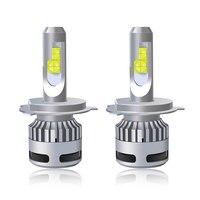 Mdatt H4 LED H7 X70 D1S D2S D3S D4S Car headlight bulb H11 9005 9006 XHP70 Chip 60W\120W IP68 12V 24V D type series universal