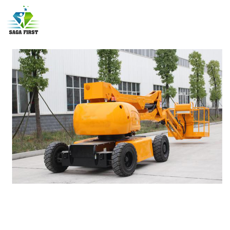 Diesel Powered Fast Driving Speed Truck Mounted Aerial Boom Lifts