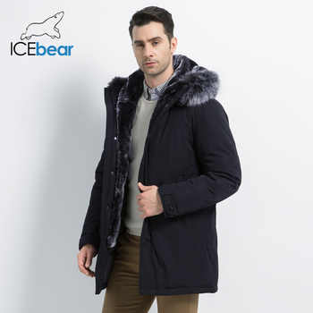 ICEbear 2019 New Winter Men's Jacket Hooded Man Jacket High Quality Man Clothing Fashion Brand Male Coat MWD19928D - DISCOUNT ITEM  68% OFF All Category