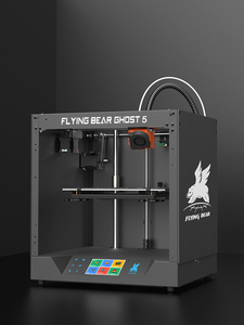 Image 3 - Livraison gratuite Flyingbear fantôme 5 plein cadre en métal haute précision bricolage 3d imprimante kit imprimante impresora plate forme en verre