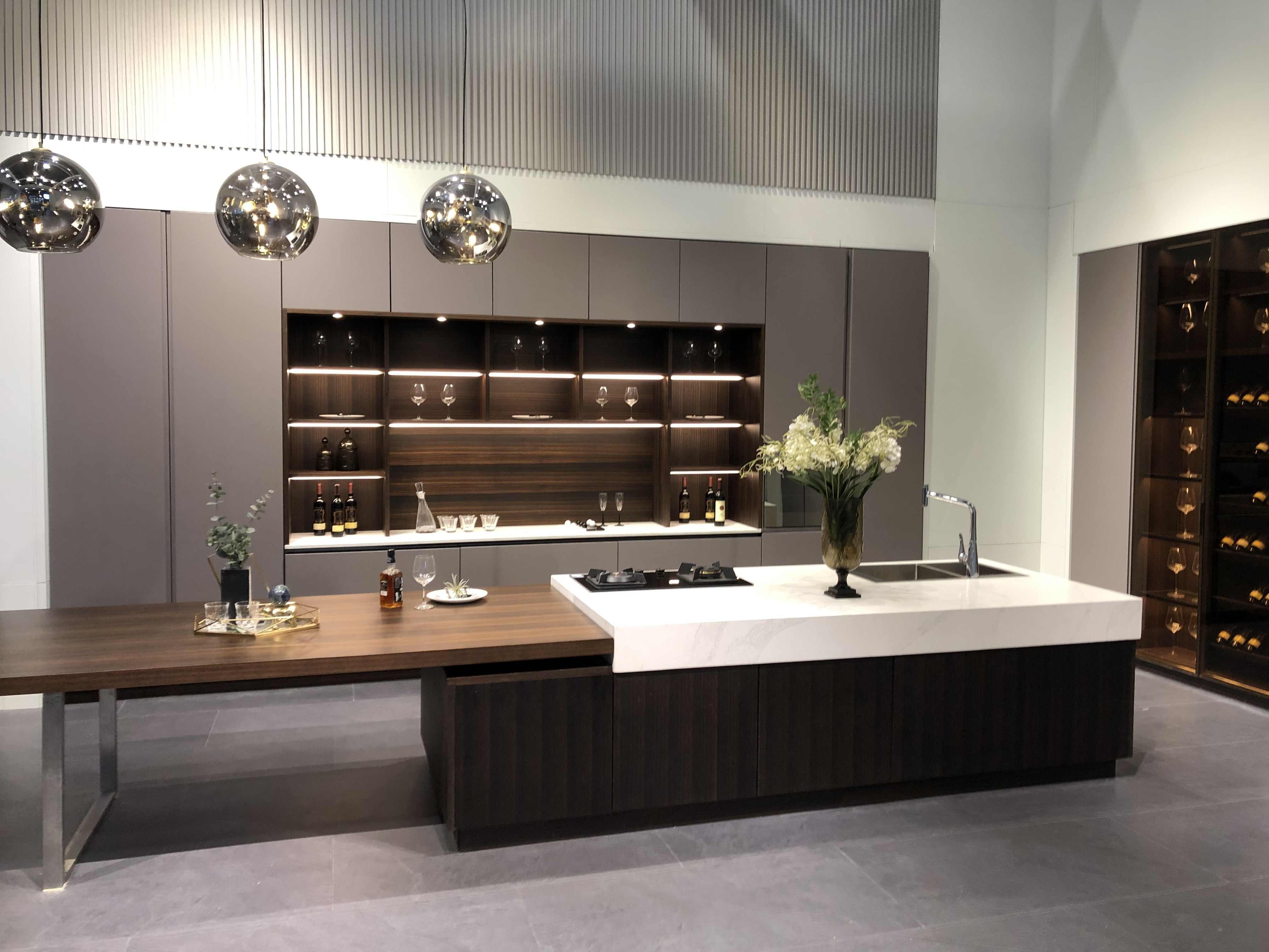 Home Furniture Waterproof Modular Modern Design Kitchen